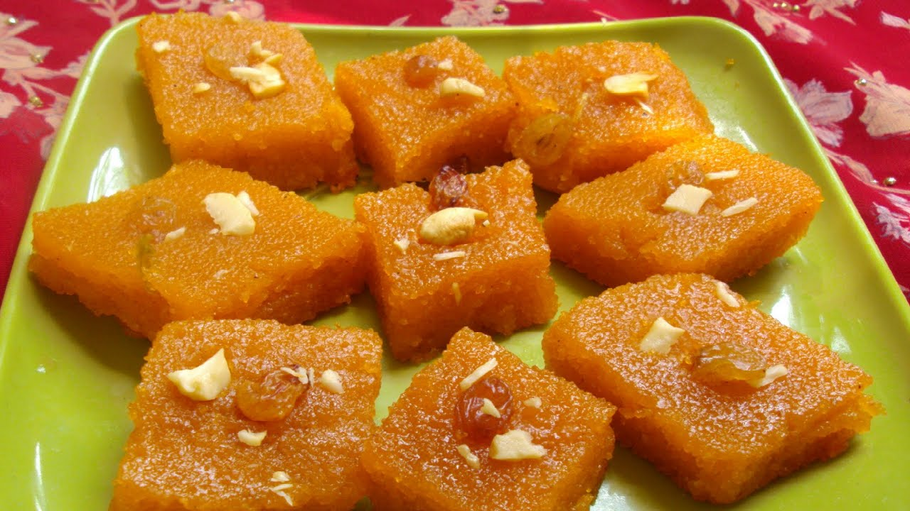 Types of halwa recipe