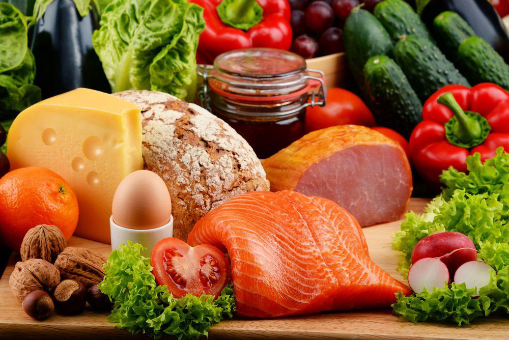 Daily food for good health