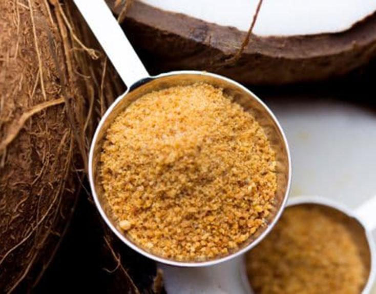 Palm crystal sugar