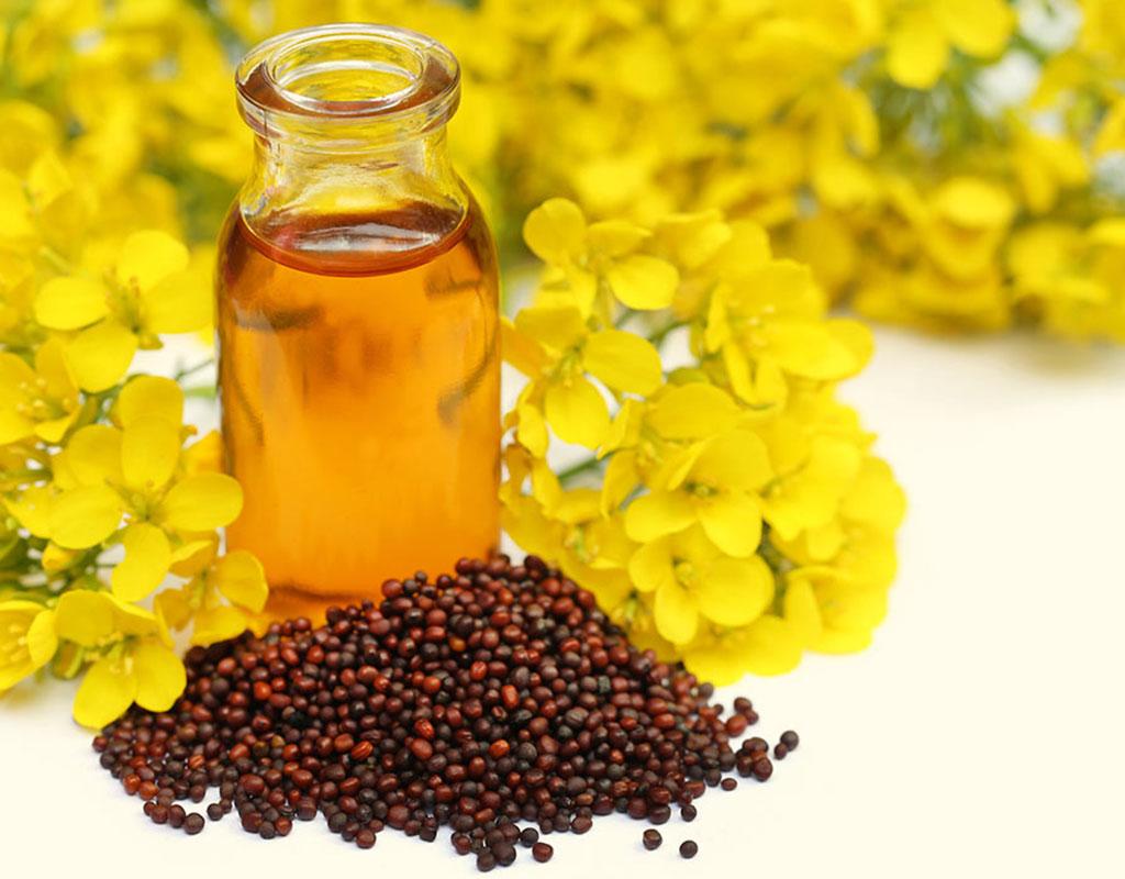 Mustard oil for beauty