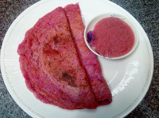 beetroot carrot dosa in tamil