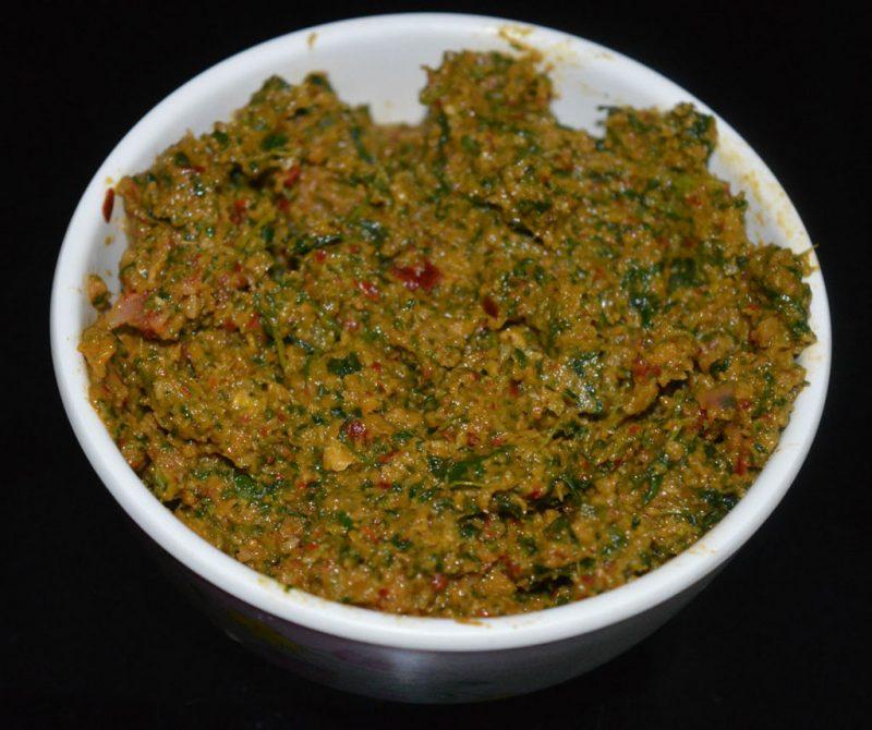fenugreek leaf thuvaiyal in tamil