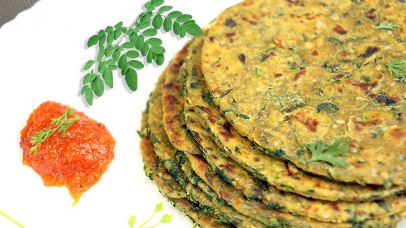 drumstick leaf paratha in tamil