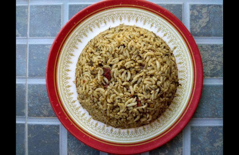 pulicha keerai rice in tamil